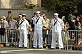 US Navy 040609-A-3085H-148 Sailors assigned to Naval District of Washington (NDW) participate in a cordon on Constitution Avenue.jpg