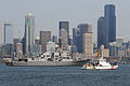 US Navy 100804-N-7783B-022 The Arleigh Burke-class guided-missile destroyer USS Kidd (DDG 100) arrives in Seattle to participate in the 61st annual Seattle Seafair Navy Week.jpg