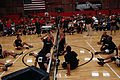 US Navy 110517-N-CD297-109 Members from Team Navy-Coast Guard volley against members of the U.S. Army sitting volleyball team during a preliminary.jpg
