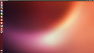 "Screenshot von Ubuntu 13.04 ""Raring Ringtail"""