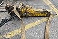 Un marteau-piqueur sur le sol, rue Sainte-Geneviève (Lyon) (2).jpg