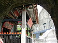 Under the section of the old city wall, the side of Na Tcha Temple and the back of Ruínas de S.Paulo.JPG