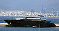 Unfinished Superyacht Hulk at the Detached Mole, Gibraltar.jpg