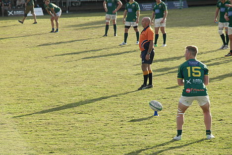 University v Maroochydore July 5, 2014 penalty goal attempt.jpg