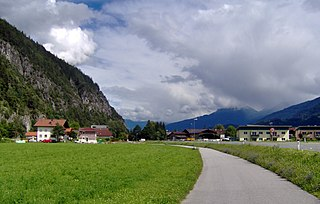 Pettnau Place in Tyrol, Austria
