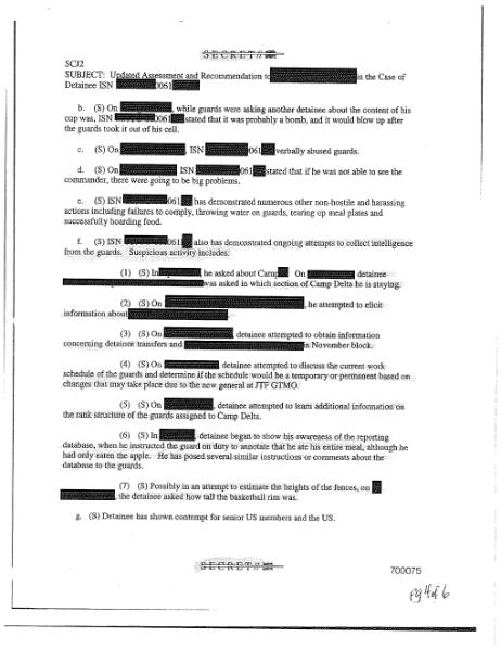 File:Updated Assessment and Recommentation to redacted in the Case of Detainee ISN 0061.djvu