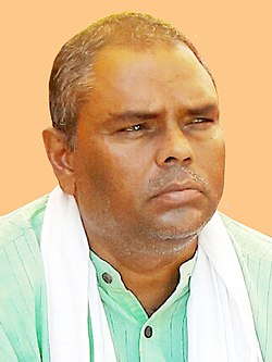 Upendra Yadav at Rajbiraj (cropped).jpg