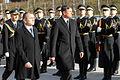 Uradni obisk predsednika Republike Slovenije in vrhovnega poveljnika obrambnih sil Boruta Pahorja na Ministrstvu za obrambo decembra 2014 12.jpg