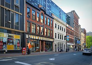 Barrington Street - Barrington Street shops near Sackville Street