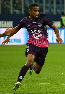 Urby Emanuelson Dutch footballer