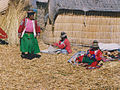 Uros women of a island in Peru.jpg