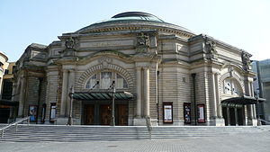 Eurovision Song Contest 1972 - Usher Hall, Edinburgh – host venue of the 1972 contest.