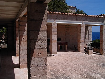 Can Lis, Utzon's first house on Mallorca Utzon Can Lis.jpg