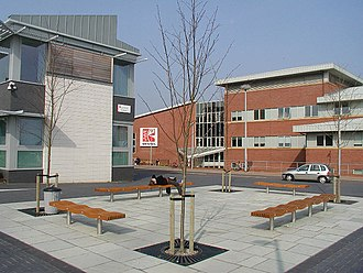 University of the West of England, Bristol - Part of the UWE campus at Frenchay