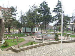 Vushtrri City Park and Tomb (Turbe) of Karabash.