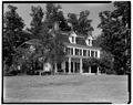 VIEW OF SOUTH FRONT FROM SOUTHWEST - Wildercliff, Morton Road, Rhinebeck, Dutchess County, NY HABS NY,14-RHINB.V,3-4.tif