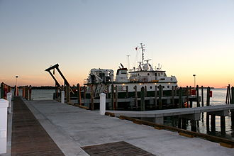 Rosenstiel School of Marine and Atmospheric Science - The R/V F.G. Walton Smith, a research catamaran utilized by RSMAS.