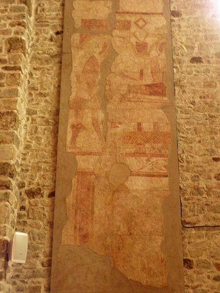 Peintures murales de l'église Saint-Laurent de Vaiges (53).
