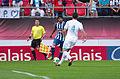 Valais Cup 2013 - OM-FC Porto 13-07-2013 - Lucho et Lucas Mendes.jpg