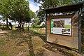 Valdevacas de Montejo, cartel informativo Parque Natural Hoces del Río Riaza, 02.jpg
