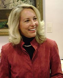 Description de l'image Valerie plame at moravian college.JPG.