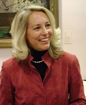 Valerie Plame at an event at Moravian College ...