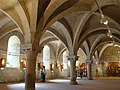 Valladolid monasterio Valbuena 22 Claustro Sala de trabajos Ni.jpg