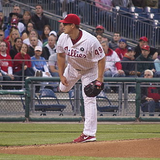 Vance Worley - Worley pitching for the Philadelphia Phillies in 2011