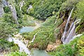 Veliki Slap Waterfall and the Lower Lakes in Plitvice Lakes National Park, Croatia (48669979568).jpg