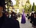 Venerable Hermandad del Santísimo Cristo de la Lanzada y María Santísima de la Caridad, Granda, Semana Santa 2009 (15).JPG