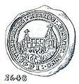 Vennebjerg Herreds segl 1648.jpg