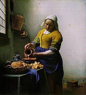 ¿Quién quiere jugar al gatarte? - Página 3 280px-Vermeer_-_The_Milkmaid