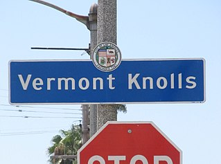 Vermont Knolls, Los Angeles Neighborhood of Los Angeles in California, United States