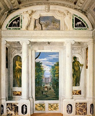 Villa Barbaro - One of Veronese's frescoes