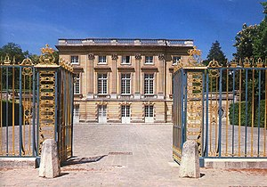 Petit Trianon - Entrance to the Petit Trianon
