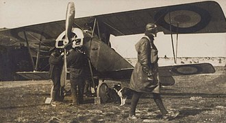 Nieuport 10 - Early French Nieuport X.B reconnaissance aircraft