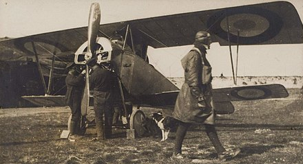 Early French Nieuport 10.B two seat reconnaissance aircraft - Nieuport 10