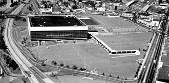 1984–85 Portland Trail Blazers season - The Trail Blazers played their home games at Veterans Memorial Coliseum.