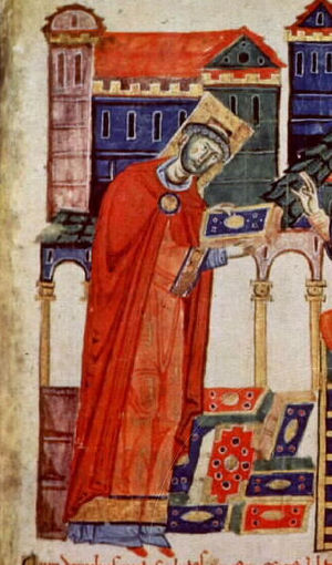 External cardinal - Pope Victor III (1087), before his election to the papacy, was simultaneously the cardinal and abbot of Monte Cassino.