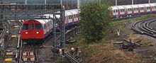 Victoria Line train leaving depot.jpg