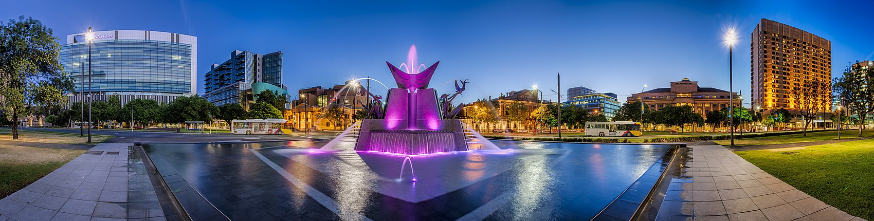 Victoria Square, central Adelaide