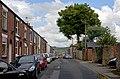 View E down Barton St from Newton St, Macclesfield.jpg