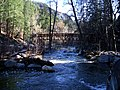 View S from Creek Crossing, Bridge at Forest House Resort, 2009 - panoramio.jpg