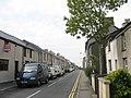 View West Along Deiniolen's Stryd Fawr (High Street) - geograph.org.uk - 246935.jpg