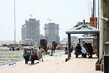 View of Karachi%2C Pakistan