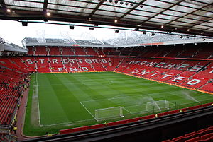 2021 Rugby League World Cup - Image: View of Old Trafford from East Stand