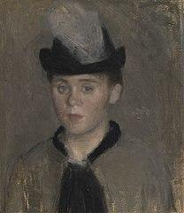 Ida Ilsted, the Artist's Fiancée