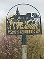 Village sign, Brington - geograph.org.uk - 728319.jpg
