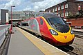 "Virgin Class 390, 390013 ""Virgin Spirit"", Stoke-on-Trent railway station (geograph 4019564).jpg"