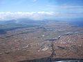 Vista aérea da Base Aérea das Lajes, Praia da Vitória, ilha Terceira, Açores, Portugal.JPG